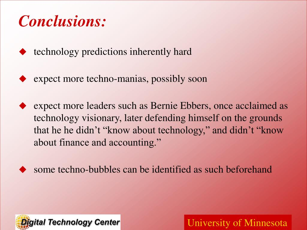 technology predictions inherently hard
