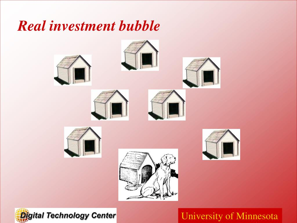 Real investment bubble
