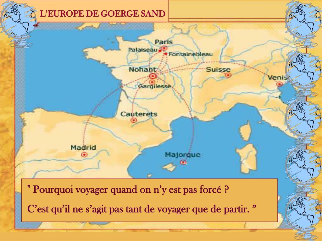 L'EUROPE DE GOERGE SAND
