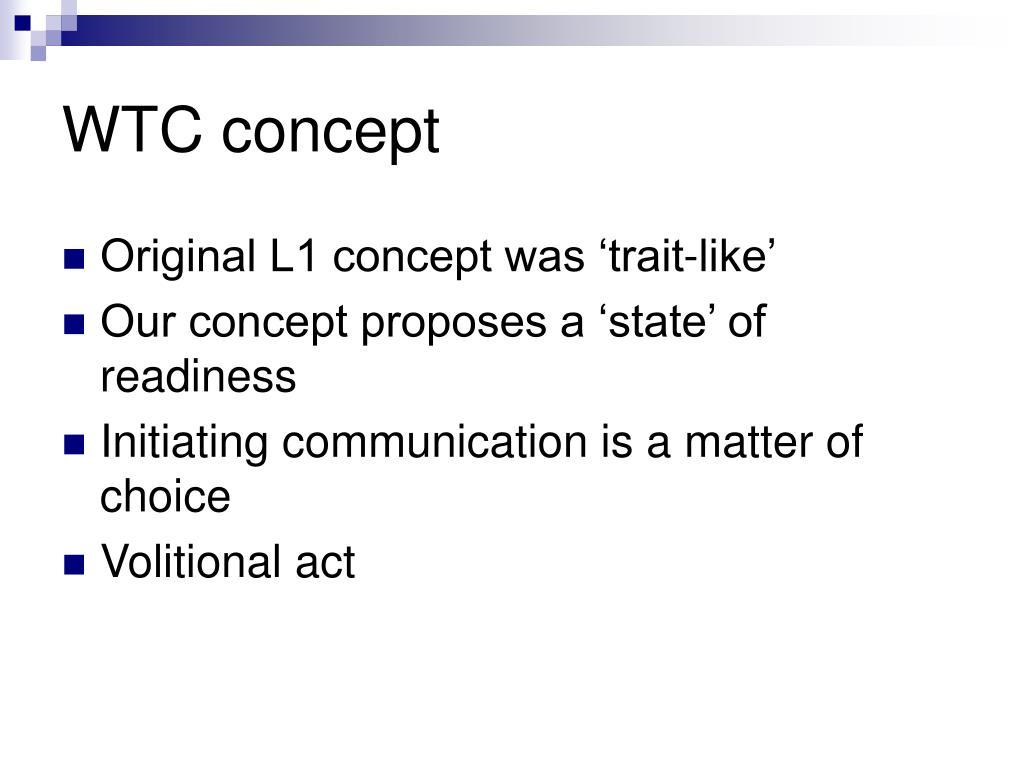 WTC concept
