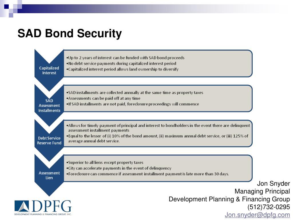 SAD Bond