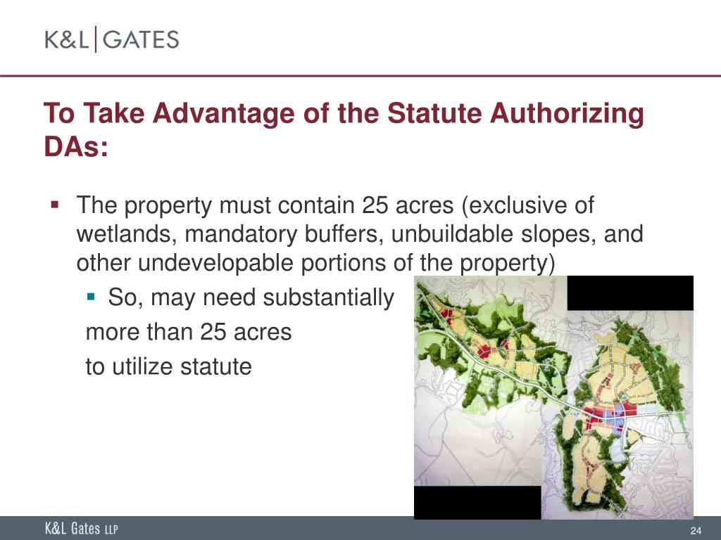 To Take Advantage of the Statute Authorizing DAs: