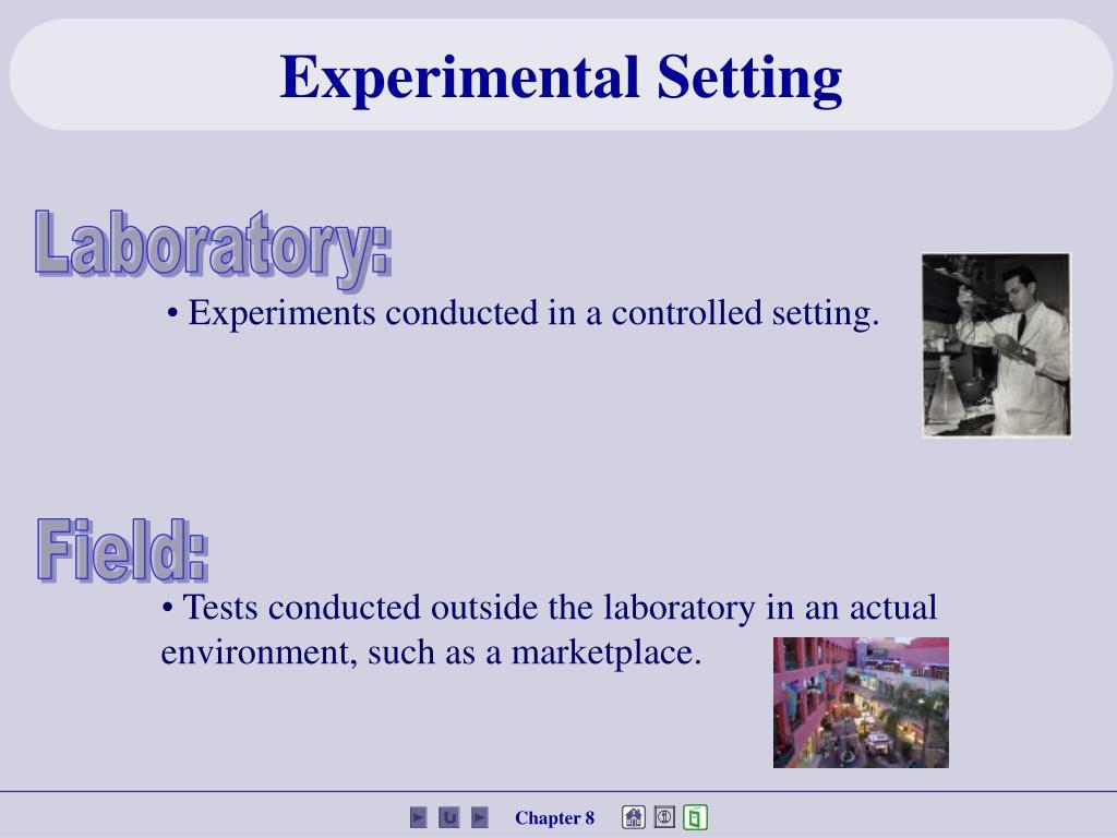 Experimental Setting