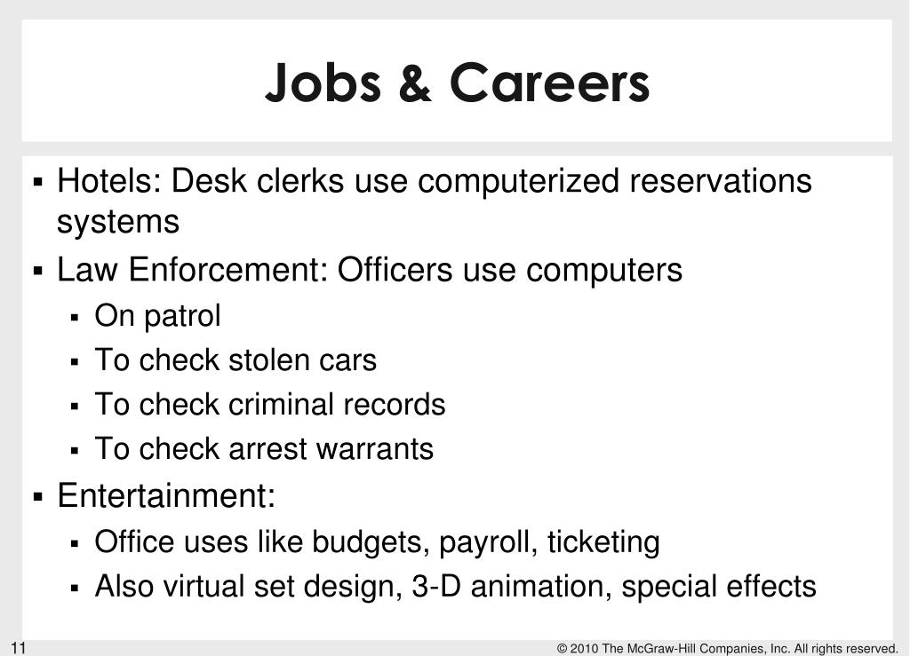 Jobs & Careers