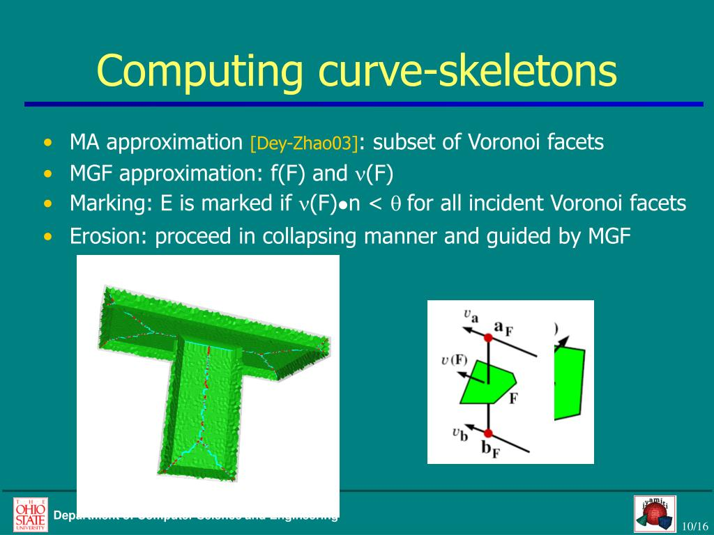 Computing curve-skeletons
