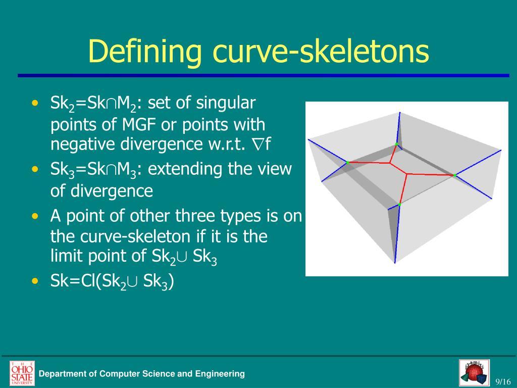 Defining curve-skeletons