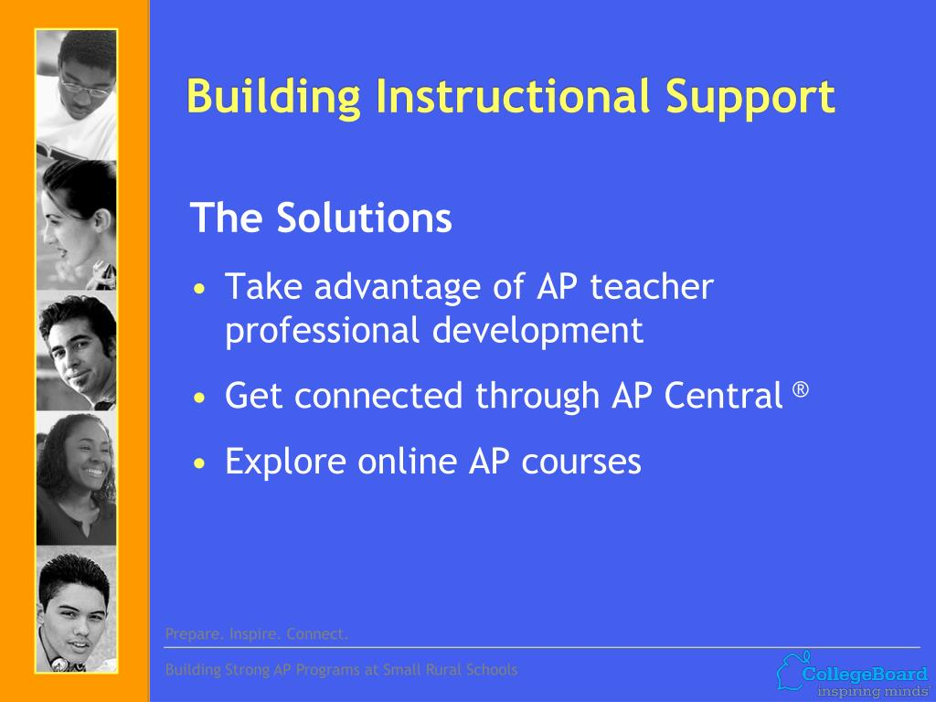 Building Instructional Support