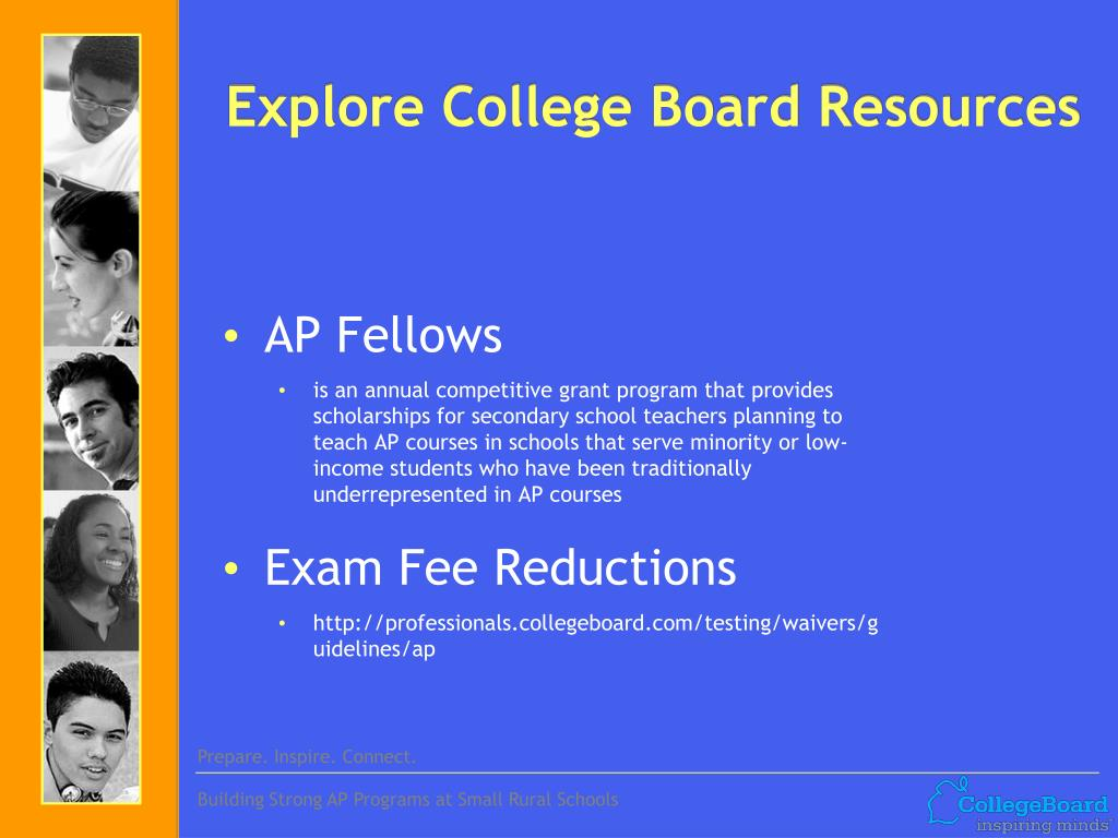 Explore College Board Resources