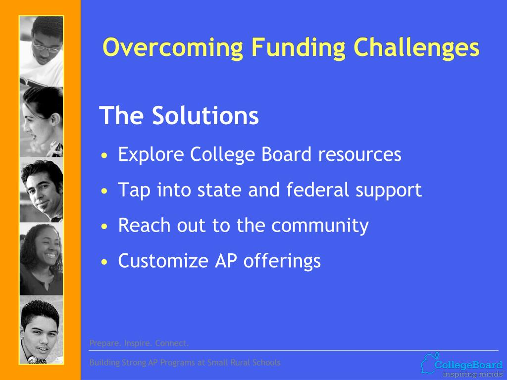 Overcoming Funding Challenges