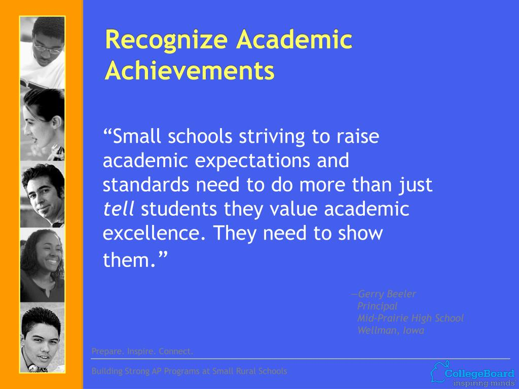 Recognize Academic Achievements