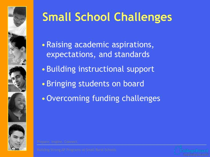 Small school challenges l.jpg