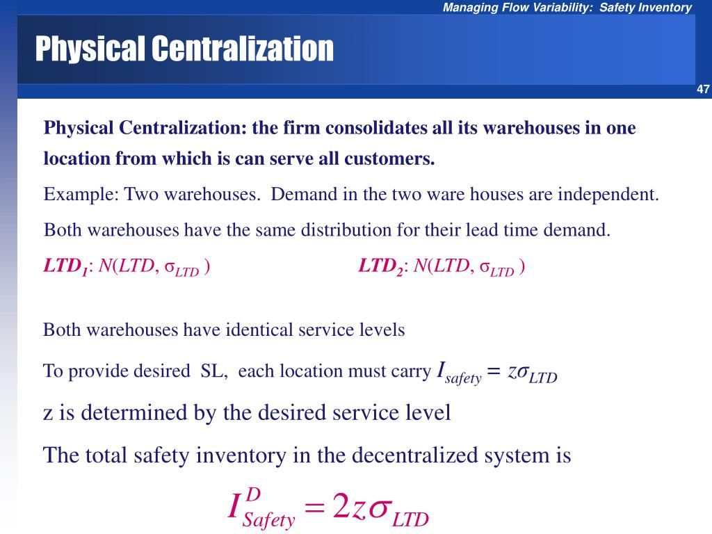 Physical Centralization
