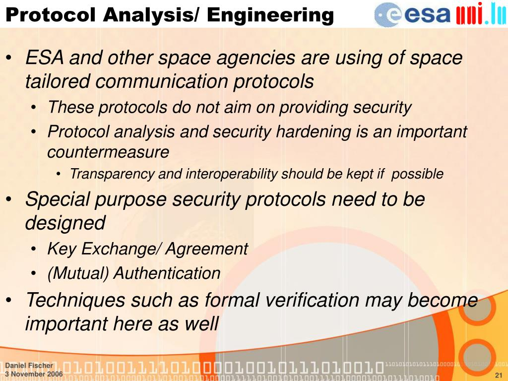 Protocol Analysis/ Engineering