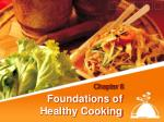 foundations of healthy cooking