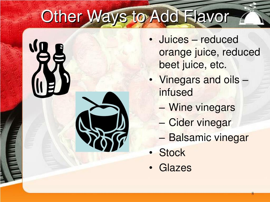 Other Ways to Add Flavor