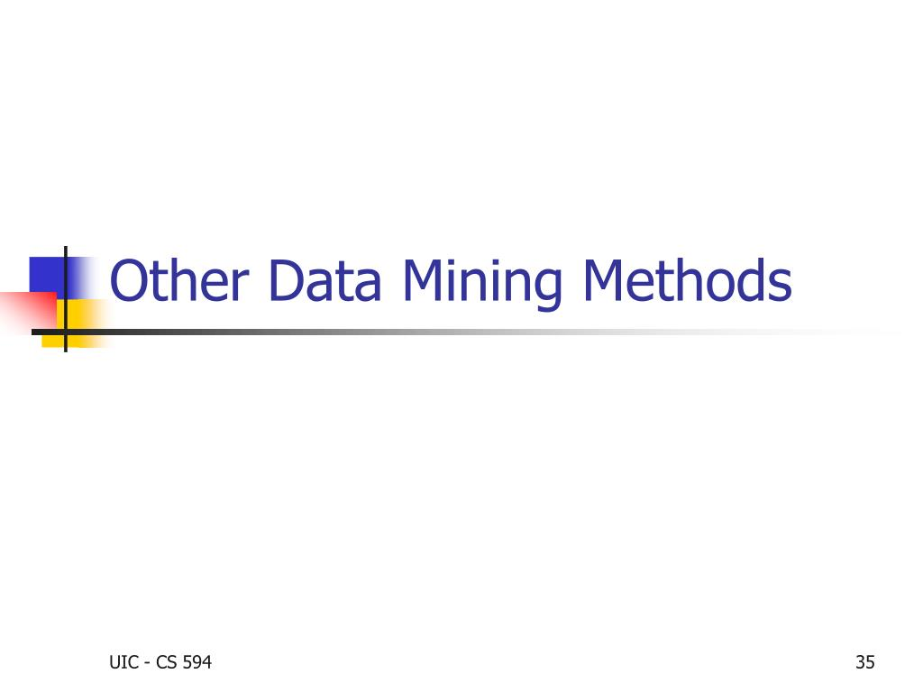 Other Data Mining Methods