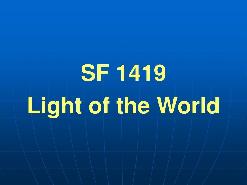 SF 1419