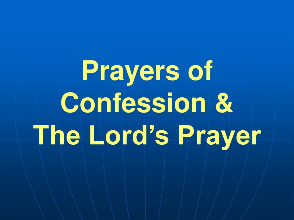 Prayers of