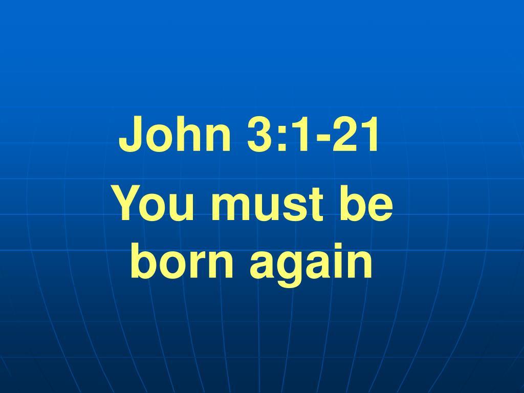 John 3:1-21