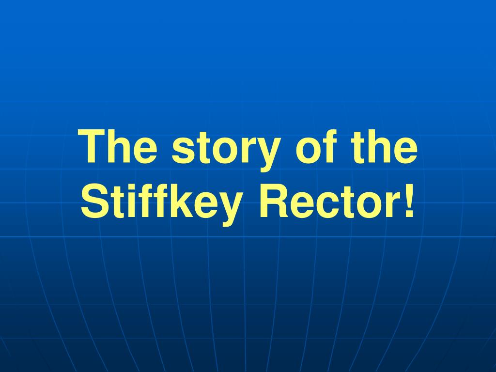 The story of the Stiffkey Rector!