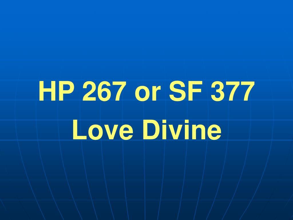 HP 267 or SF 377