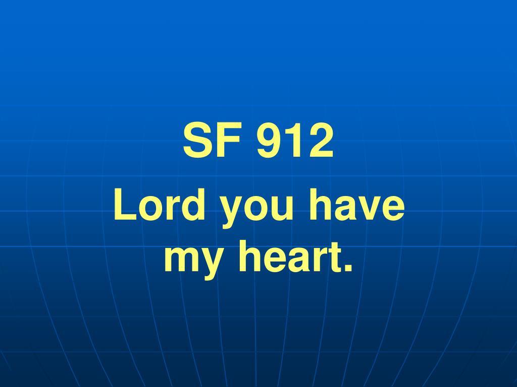 SF 912