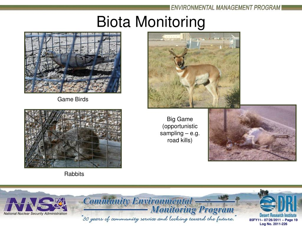 Biota Monitoring