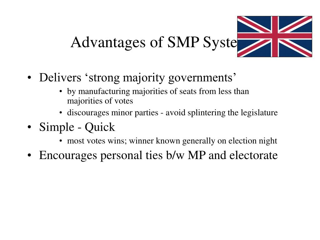 Advantages of SMP System