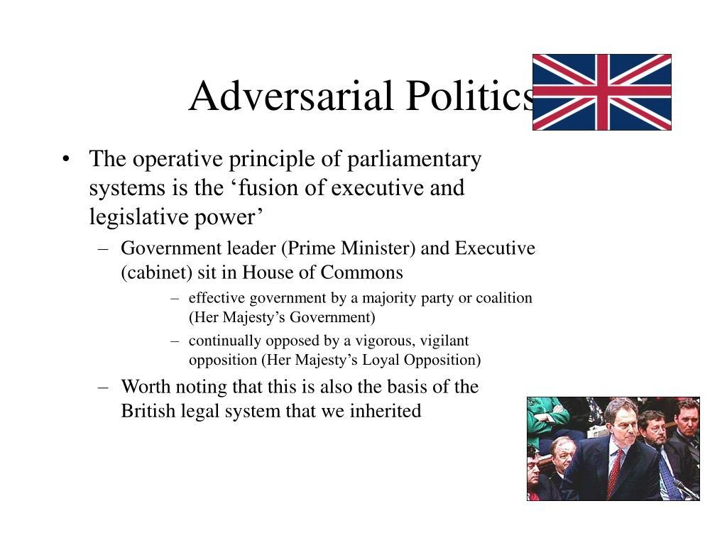 Adversarial Politics