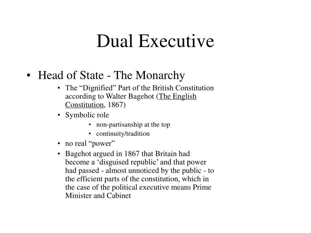 Dual Executive