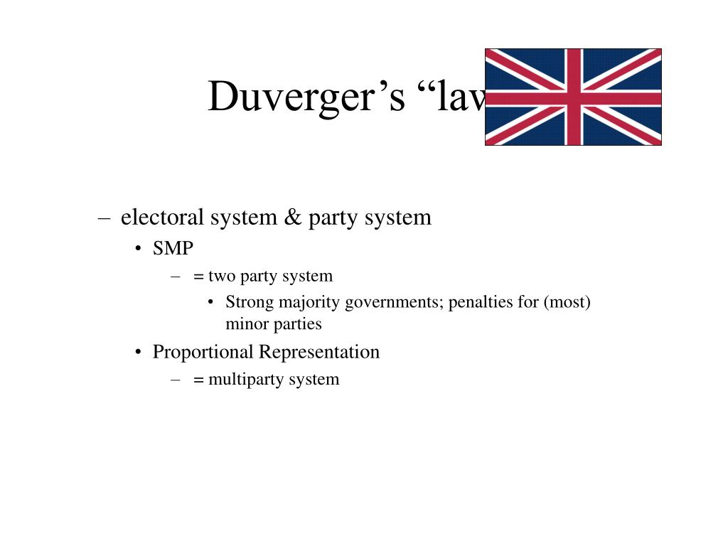 "Duverger's ""law"""