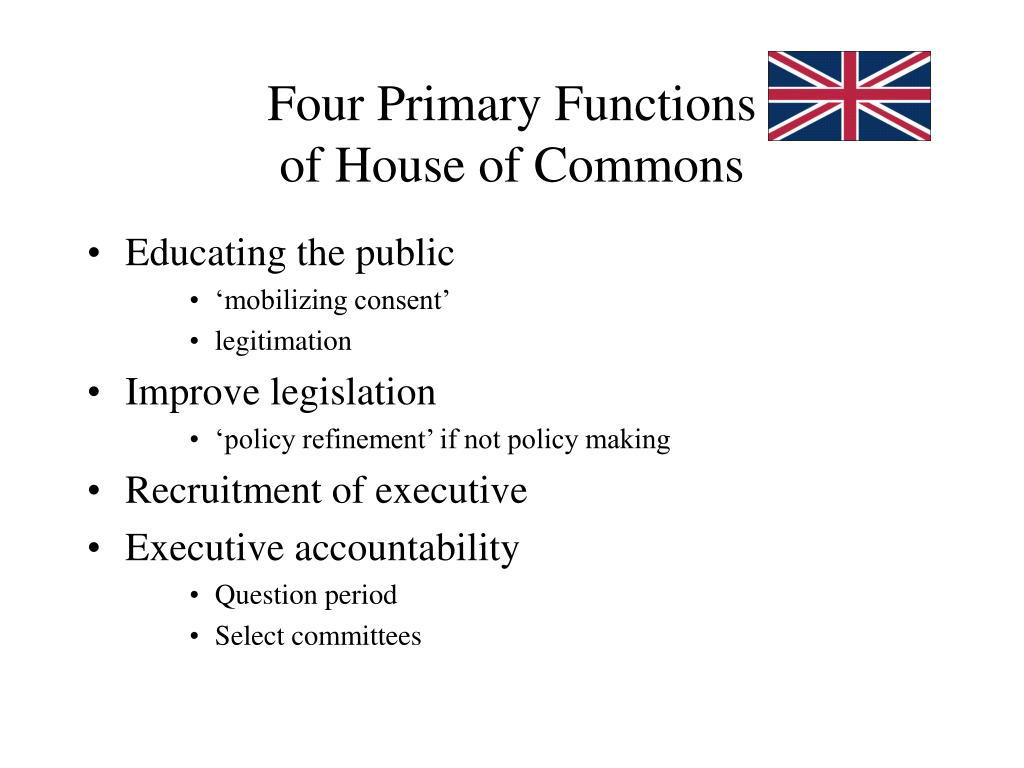 Four Primary Functions