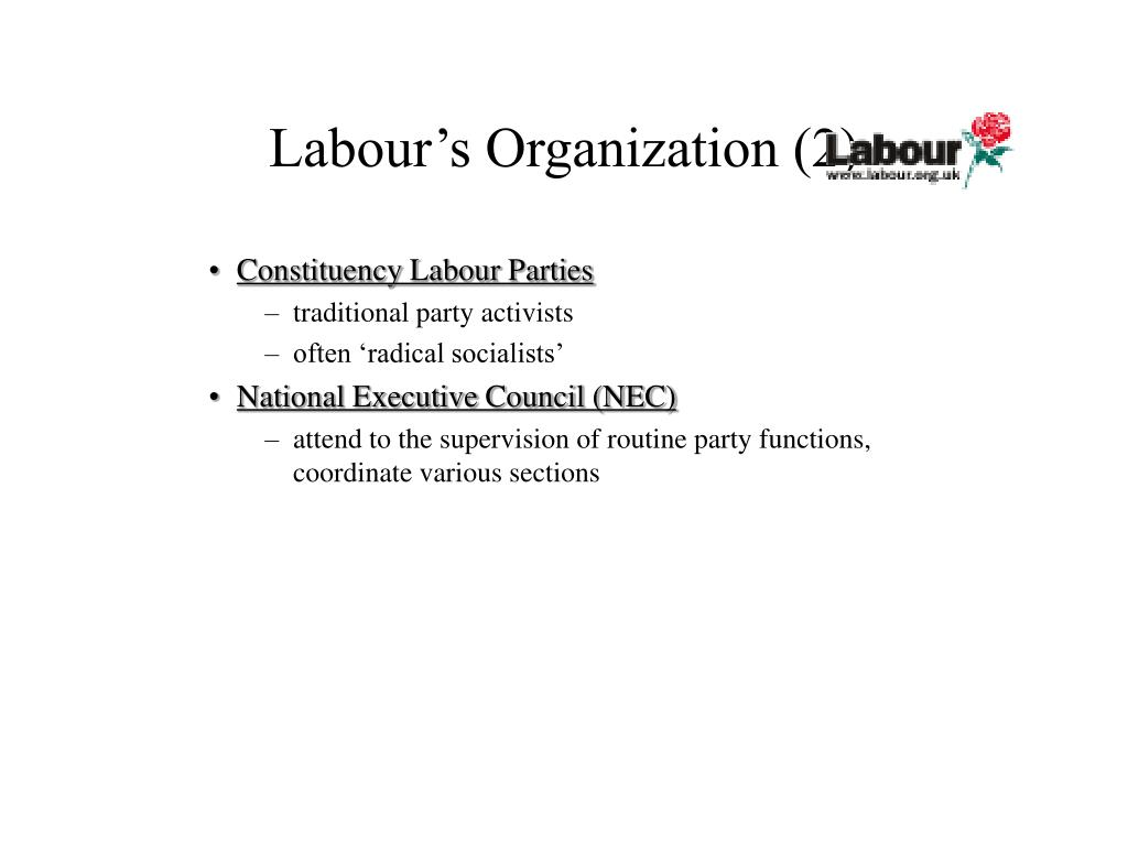Labour's Organization (2)