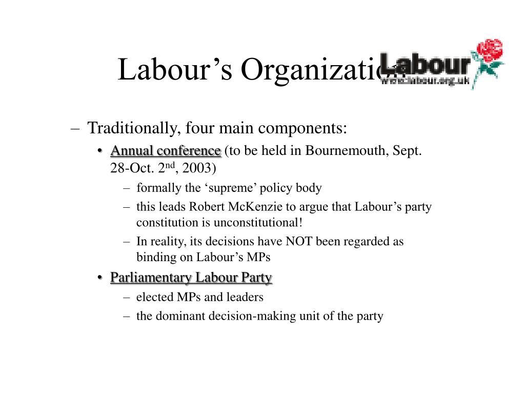 Labour's Organization