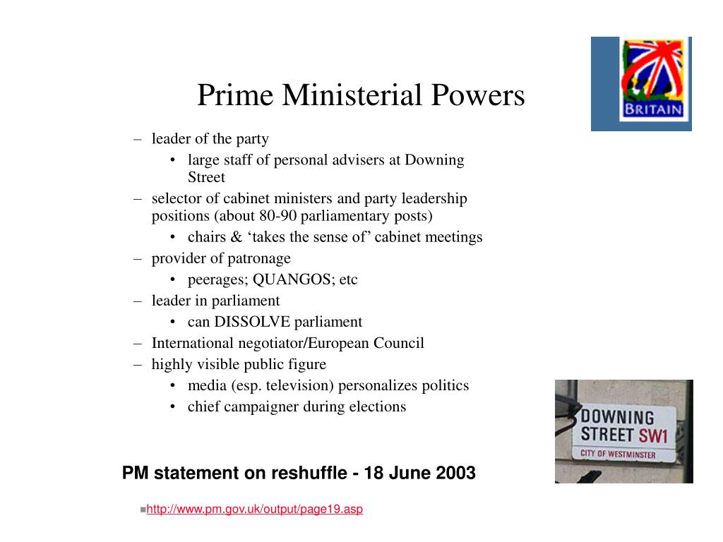 Prime Ministerial Powers