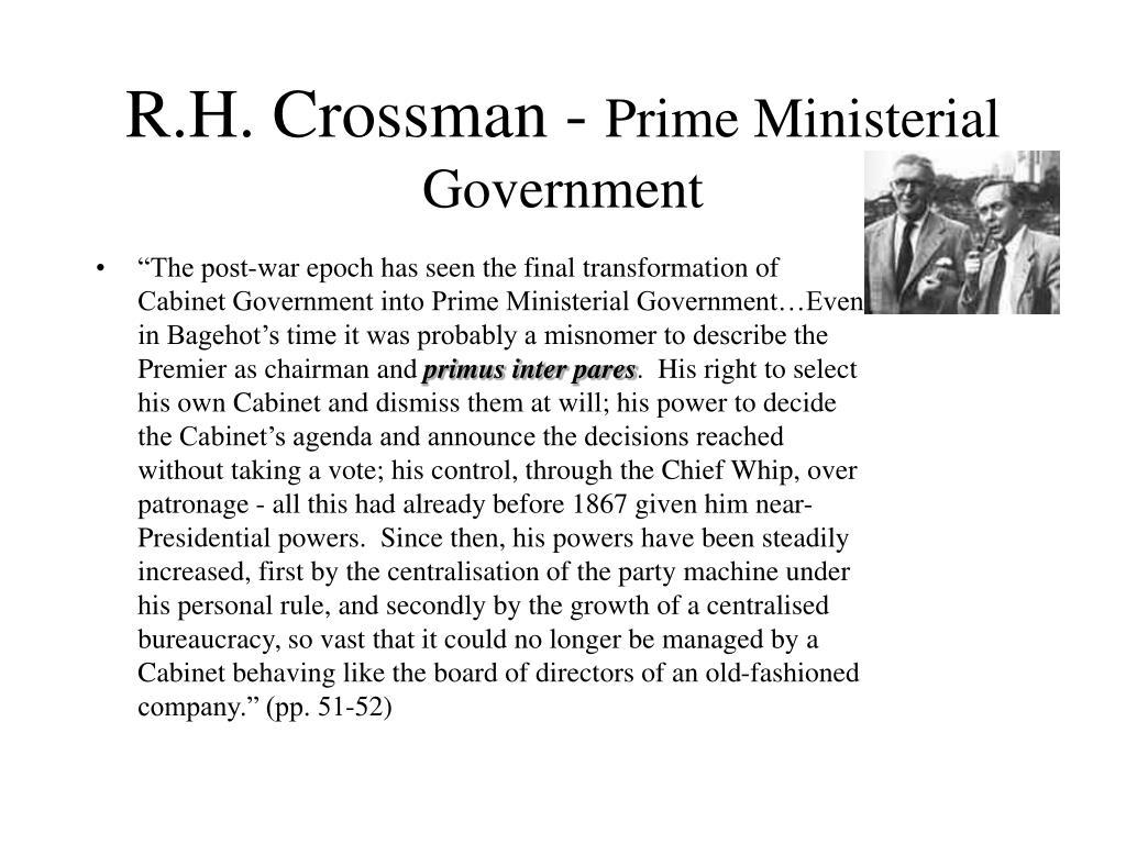 R.H. Crossman -