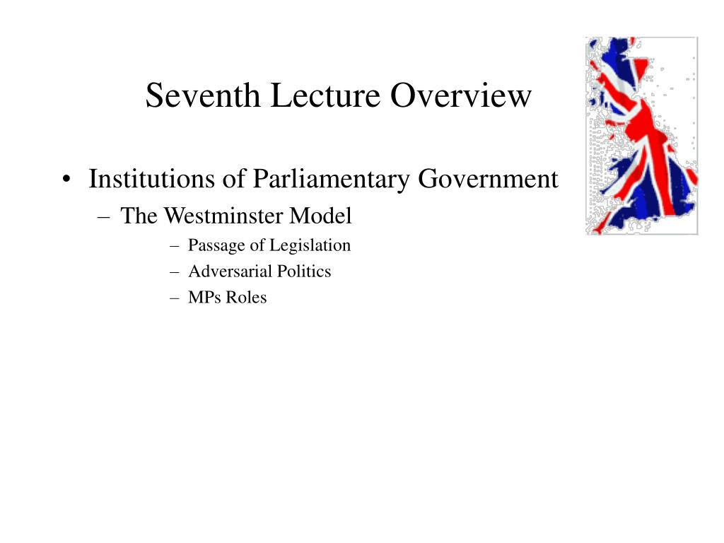 Seventh Lecture Overview