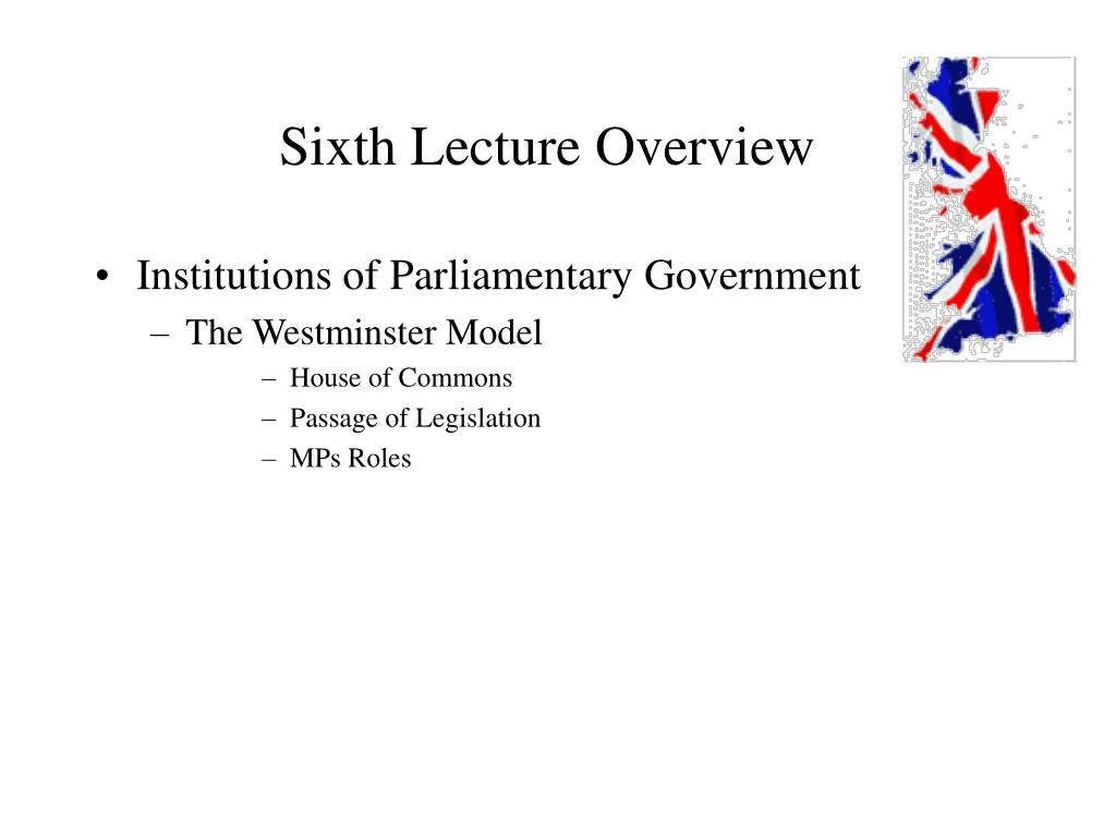 Sixth Lecture Overview