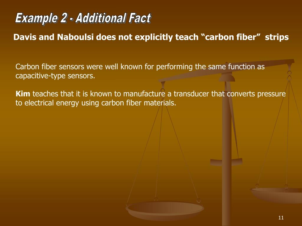 Example 2 - Additional Fact
