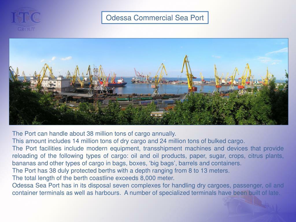 Odessa Commercial Sea Port