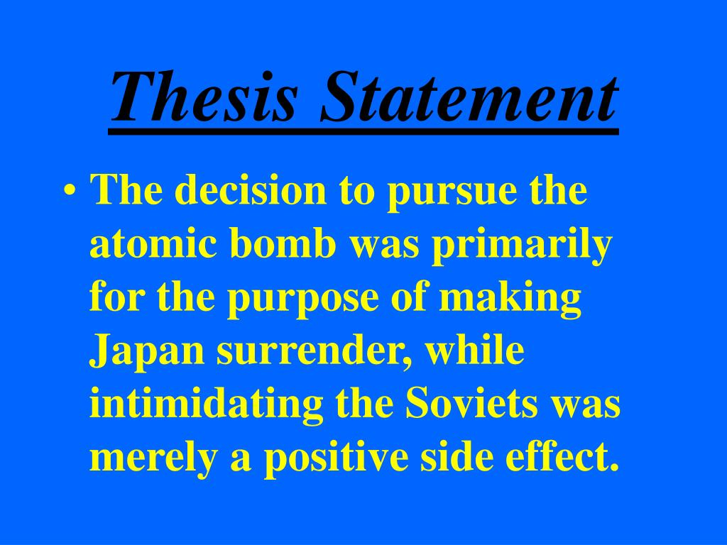 thesis statement powerpoint A thesis statement is always one sentence that states your assertion (belief)  about a topic a thesis statement usually includes a forecast (brief preview of your .