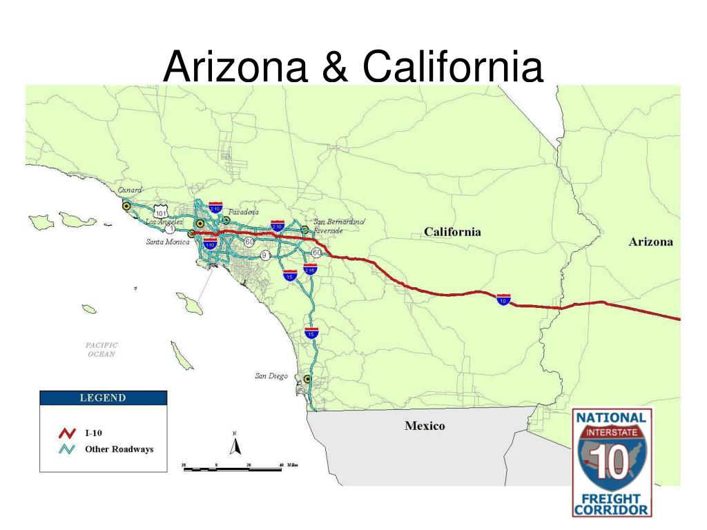 Arizona & California