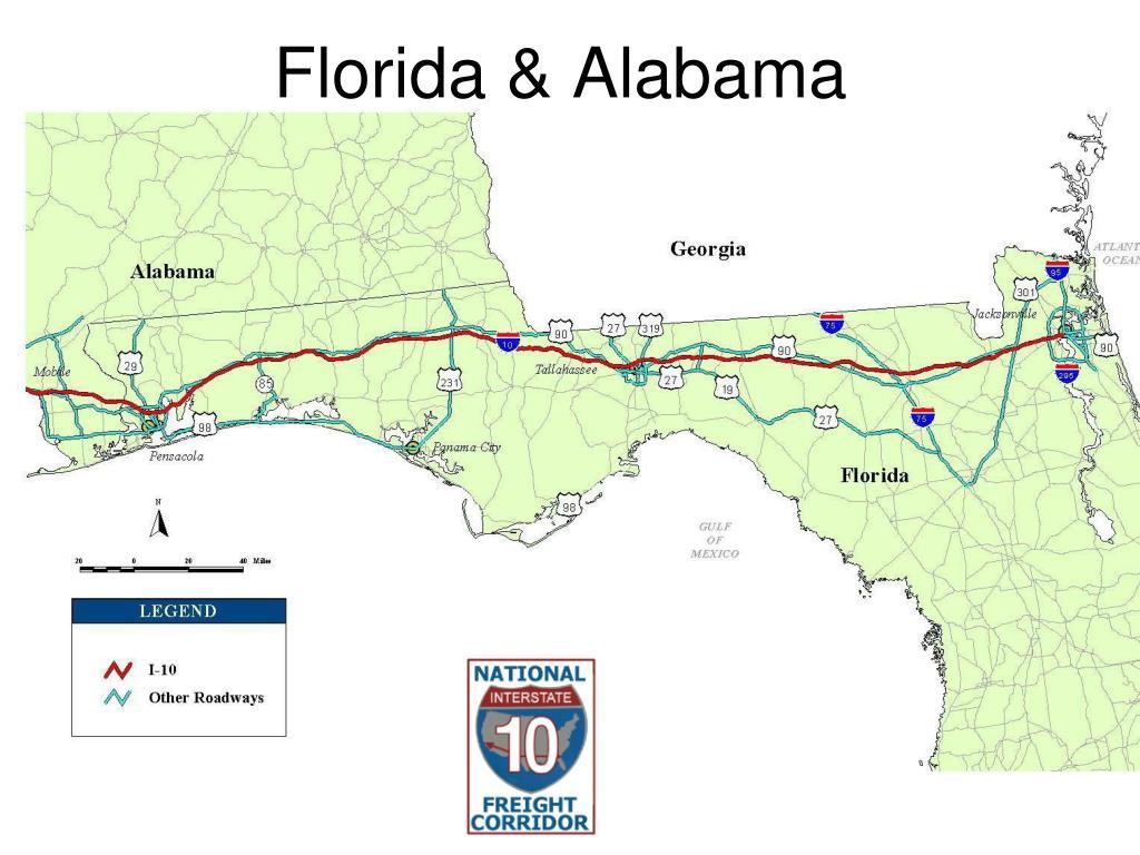 Florida & Alabama