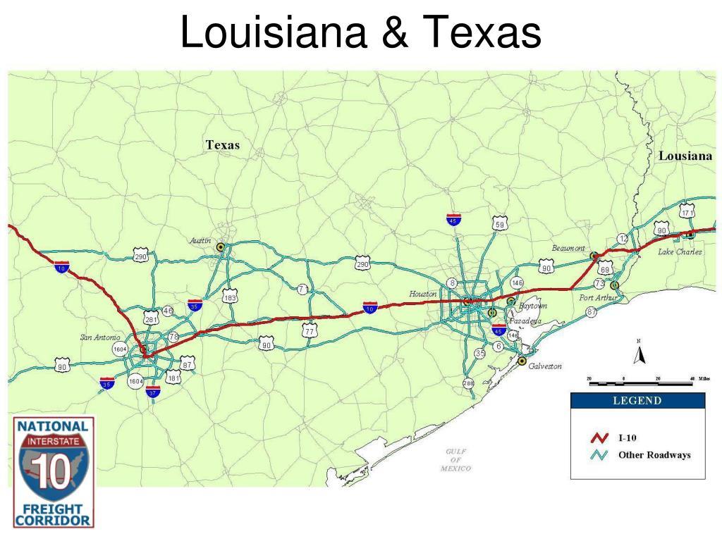 Louisiana & Texas