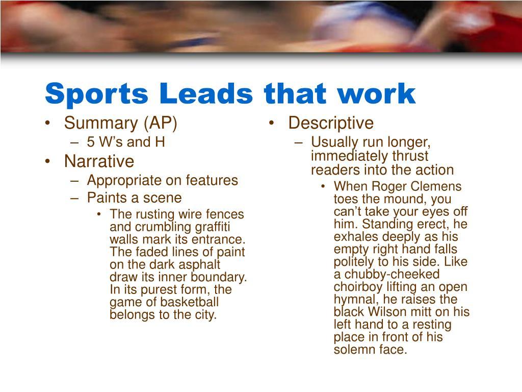 Summary (AP)