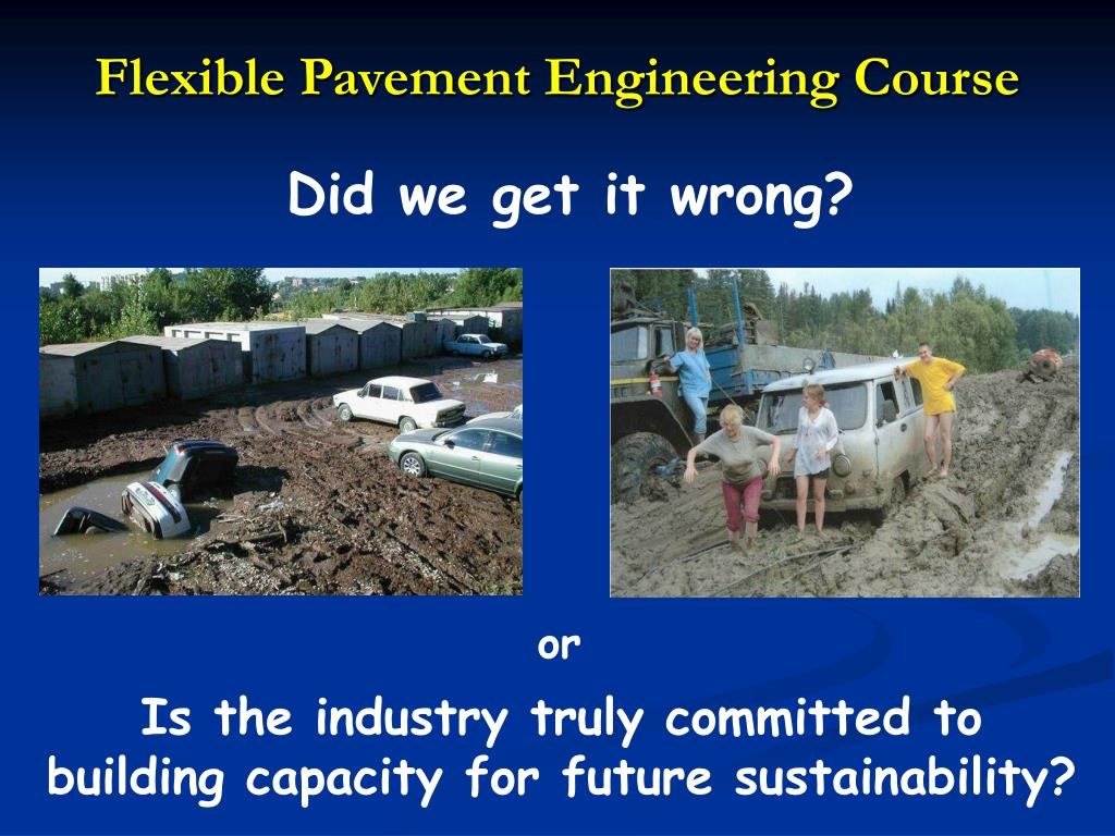 Flexible Pavement Engineering Course