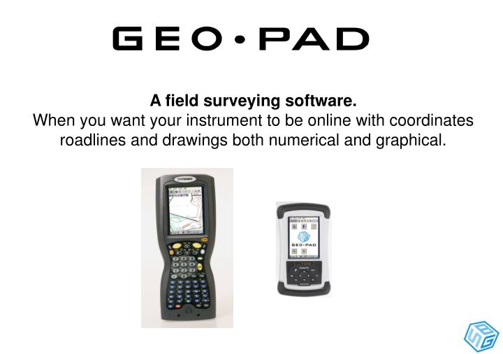 A field surveying software.