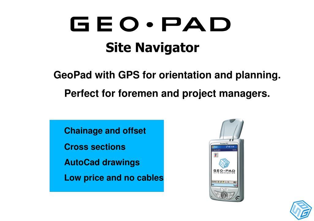 Site Navigator