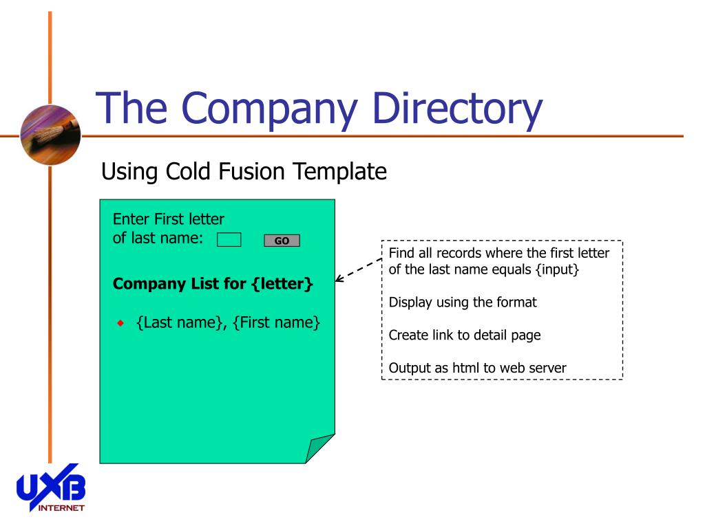 The Company Directory