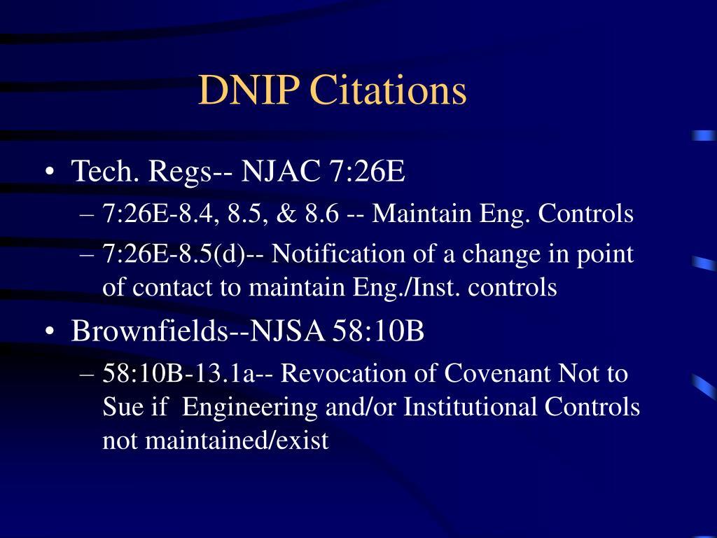 DNIP Citations